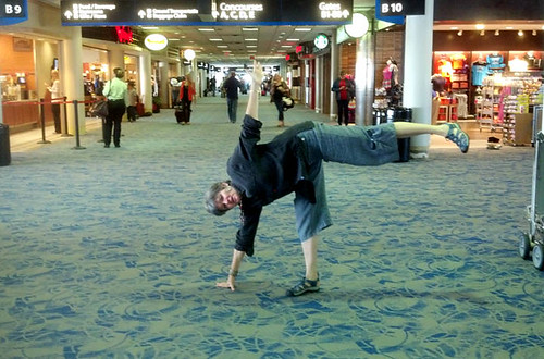 yoga charlotte airport July 3 2012