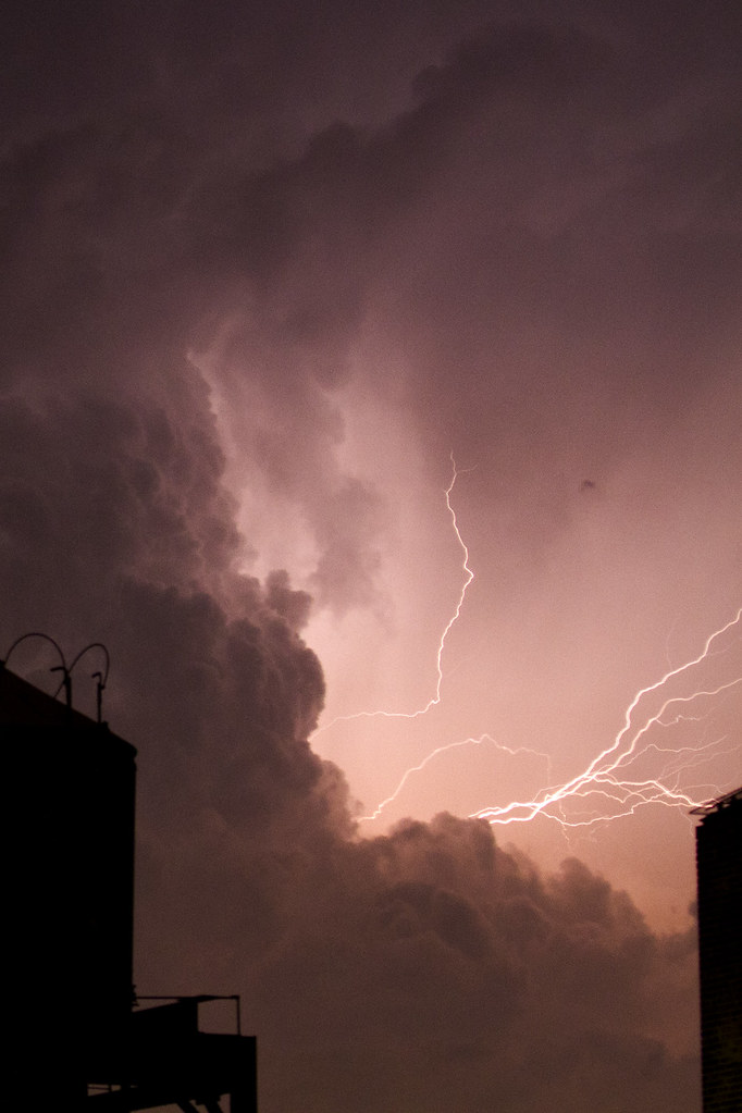 4th of July Lightning, NYC