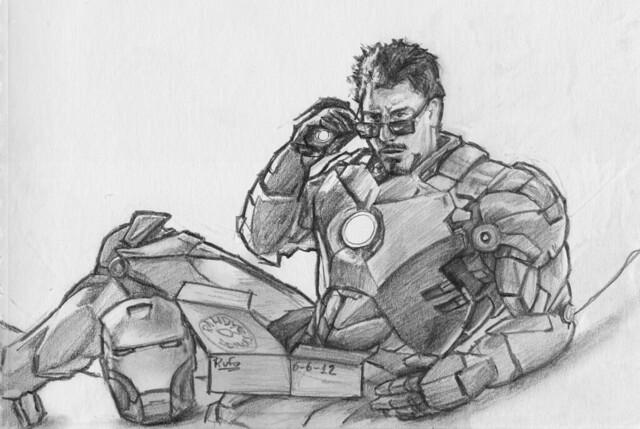 Avengers - Tony Stark a.k.a. Ironman