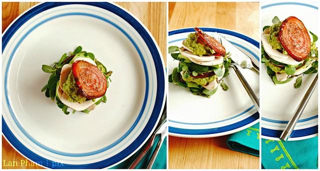 beet sandwich salad