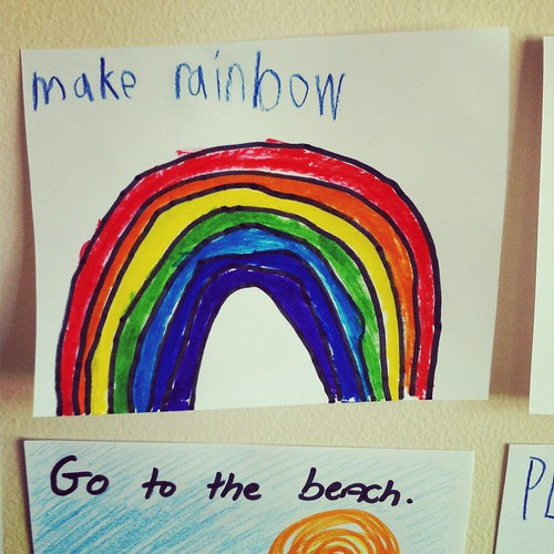 make rainbows