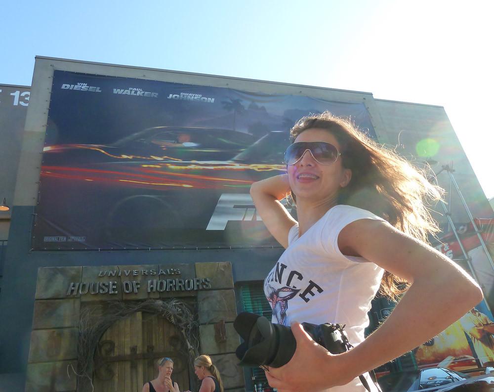 Universal Studios Tour Перед походом в комнату ужасов