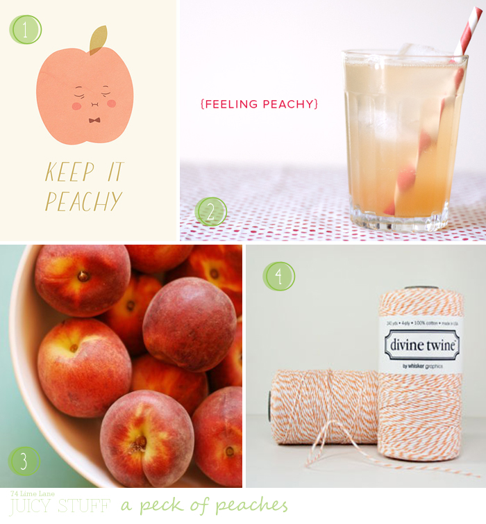 {juicy stuff} a peck of peaches