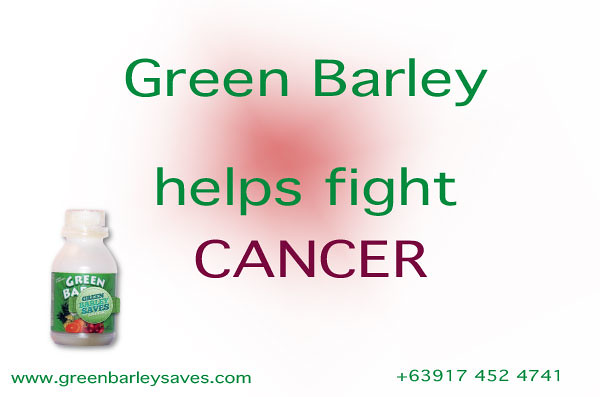 green barley cancer prevention, cancer treatment photo credit www.greenbarleysaves.com