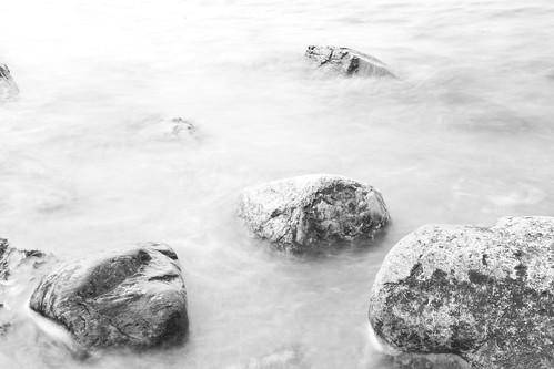 Stenar vid havet