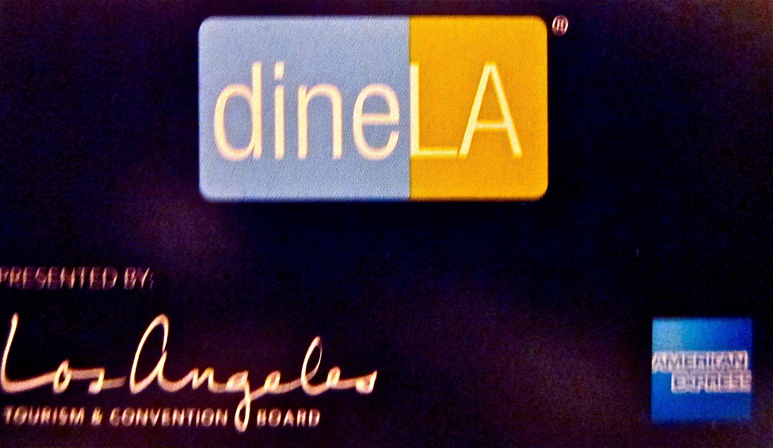 dineLA logo