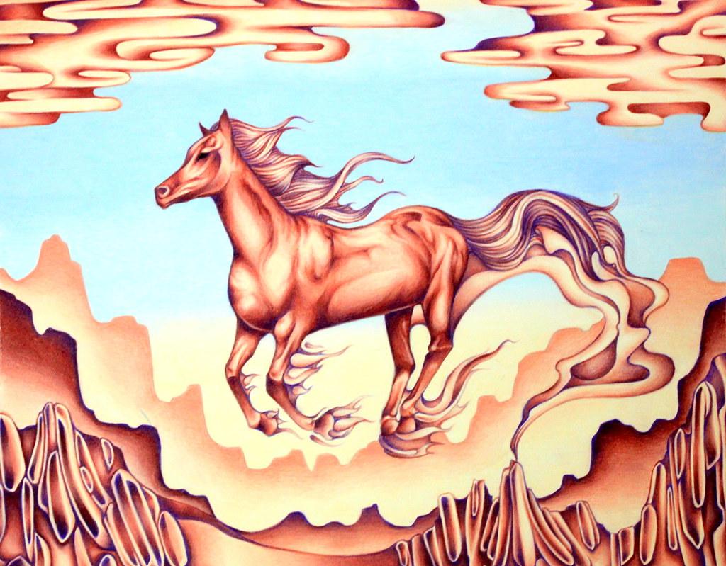 Smoking Horse