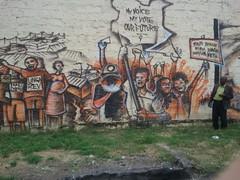 2012.07.13 Wall graffiti Nairobi on Kenyas leaders (2) - KE