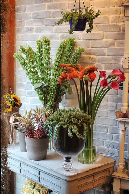 vesaire, butik çiçek atölyesi