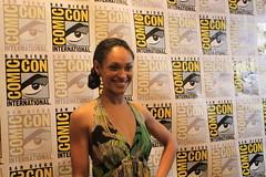 Cynthia Addai-Robinson from Starz's Spartacus