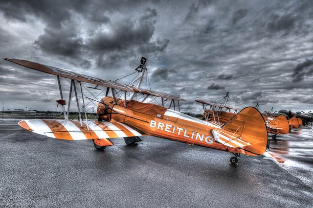 Breitling Bi-planes in HDR