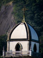 Detalhe da torre da Basílica de Iguape.