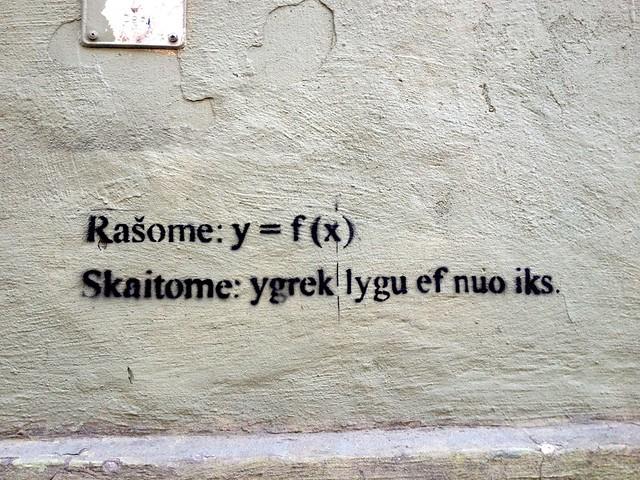 Algebra help on a wall
