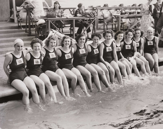 British Women's Olympic swimming team, London, 1948.