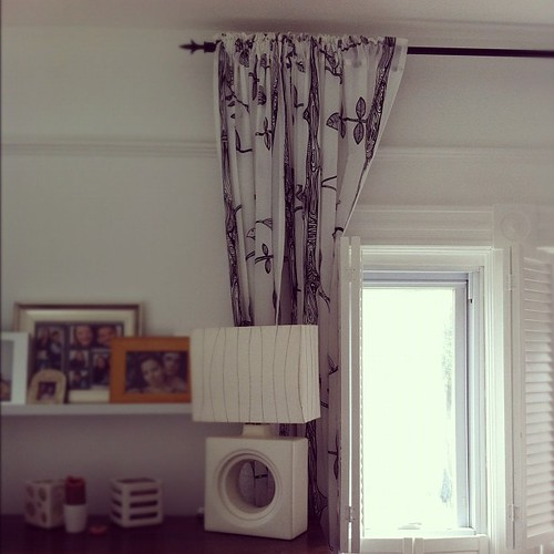 the curtains are up #interiors #home #thisoldhouse #spaces #diy