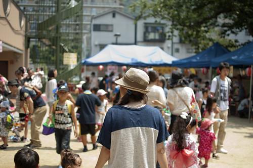 2012/07/28 大宅保育園 サマーフェスティバル