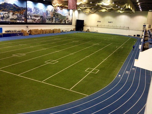Air force indoor track