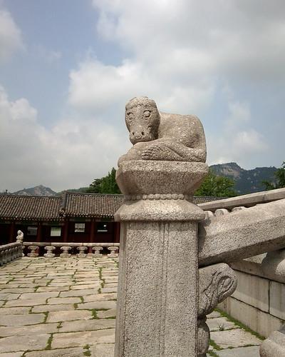 Horse sculpture, Gyeongbokgung Palace