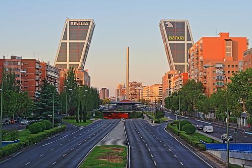 La torre de Bankia en Madrid