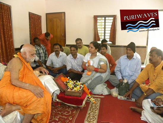 Blessings from Sankarachrya Puri Govardhan Matha