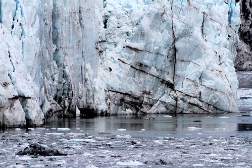 Glacier Bay - Streaky Margerie Glacier