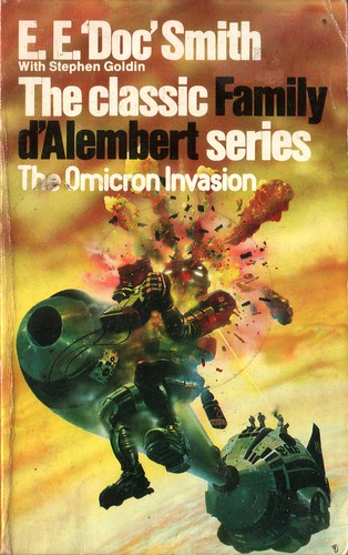 The Omicron Invasion by E.E. 'Doc' Smith. Granada 1984. Cover art Chris Foss
