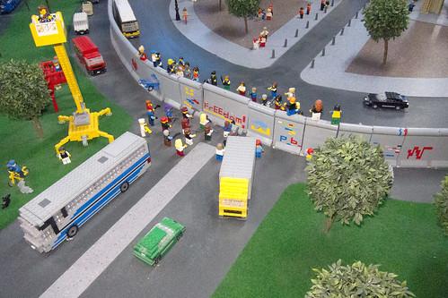 Berlin Wall in lego