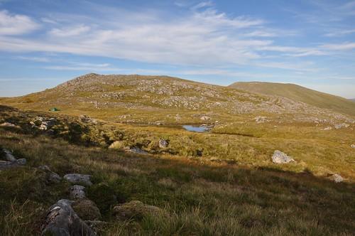 Camp between An Creachal Beag and Aonach Buidhe