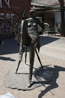 Art lady statue