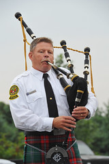 musician, person, bagpipes, wind instrument,