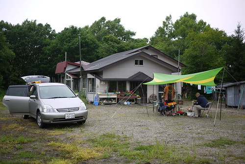 Staying at Ric's mother-in-law's place in Kotan (Hokkaido, Japan)