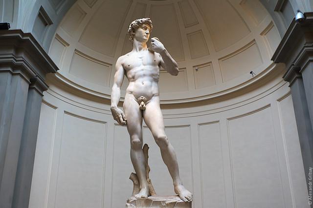 Флоренция - Шедевр работы Микеланджело