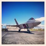 F-22 ラプター‼ カッコ良過ぎる‼ #横田 #yokota #横田基地 #yokota_air_base #アメリカ空軍 #usaf #友好祭 #friendship_festival #福生 #fussa
