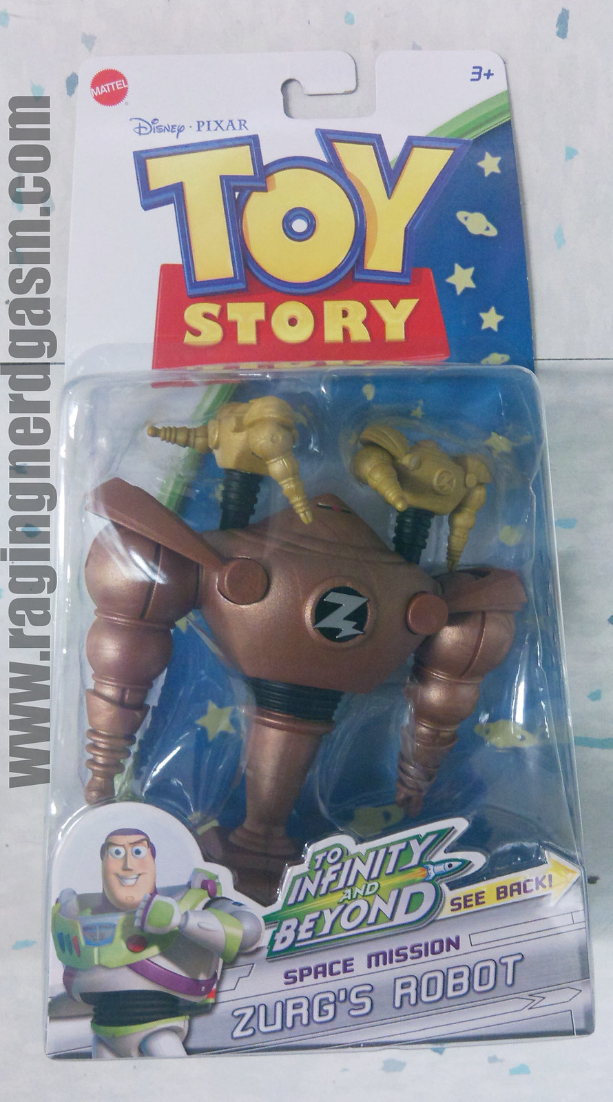 Toy Story Action figuresSpace Mission Zurg's Robot009