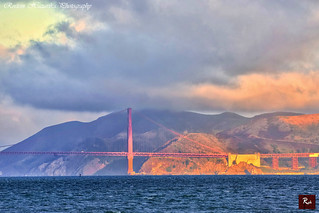 The Golden Gate Bridge Sunrise- San Francisco 2012