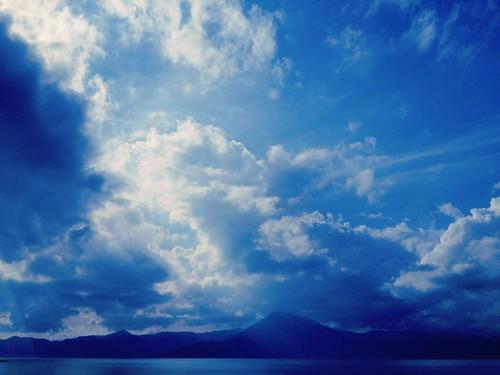 [フリー画像素材] 自然風景, 空, 雲, 青空, 青色・ブルー ID:201208311200