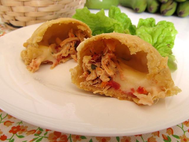 Empanada de frango catupiry