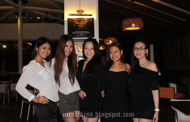 the girls in black langkawi