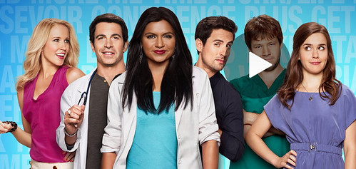 promo photo of the cast of the Mindy Project