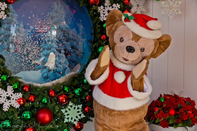 Duffy the Disney Bear Holiday 2012