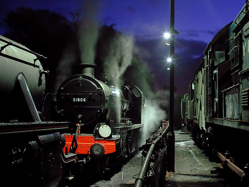 night explore 32 mogul southernrailway ropley watercressline midhantsrailway photomatix sigma30mmf14 sigma30mm midhants explored 31806 45379 uclass nightsteam
