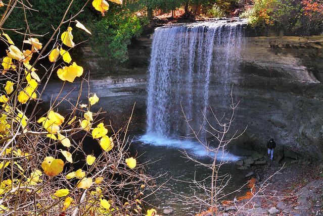Sault Ste Marie Manitoulin Island Bridal Veil Falls