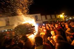 Ottery St. Mary - Burning Tar Barrels