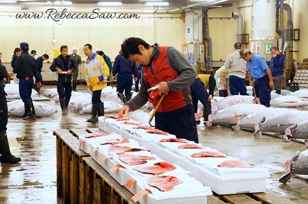 Tsukiji Market Tuna Auction - Tokyo Japan-020