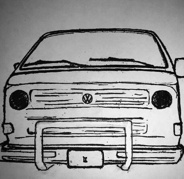 bullbars sketch