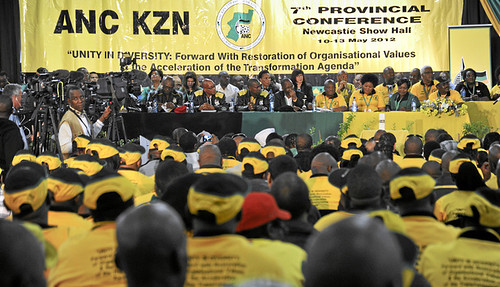 African National Congress provincial conference in New Castle, KwaZulu-Natal in May 2012. Preparations are underway for the national conference in Mangaung in December. by Pan-African News Wire File Photos