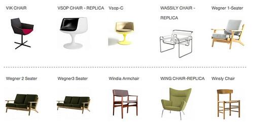Replica Furniture In Singapore FurnitureSingaporenet