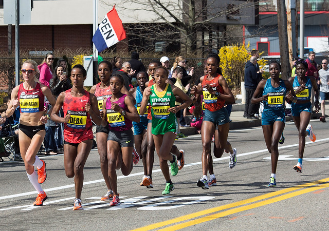 Elite Women (with 3x Marathon winner, Jeptoo)