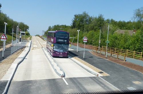 'First Manchester' Volvo B5LH / Wright Gemini 3 on  Dennis Basford's 'railsroadsrunways.blogspot.co.uk'
