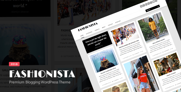 Fashionista v4.2.1 – Responsive WordPress Blog Theme